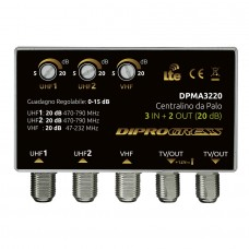 DPMA3230 AURIGA AMPLIFICATORE IN V+U+U 30