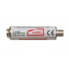 81942AG EMMEESSE AMPLIFICATORE UHF 15DB BASSO RUMORE CON AGC