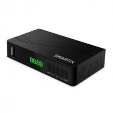 SMARTIX DECODER DVB-T2 HD DA TAVOLO CON USB REC E PLAY