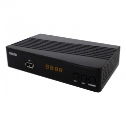 XD200D/IS200D XDOME/ISNATCH DECODER DVB-T2 HD DA TAVOLO CON USB