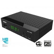 PICCO T265 EDISION DECODER DVB-T2 HD DA TAVOLO CON USB E TELECOMANDO 2 IN 1