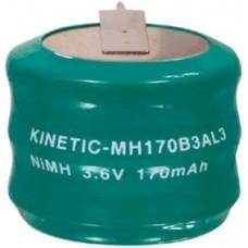 BATTERIA RICARICABILE NI-CD 3x170mAh 3,6V C.S.