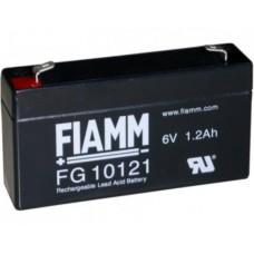 FG10121 FIAMM BATTERIA RICARICABILE PIOMBO 6V 1,2Ah