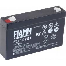 FG10721 FIAMM BATTERIA RICARICABILE PIOMBO 6V 7,2Ah