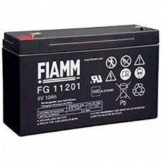 FG11201 FIAMM BATTERIA RICARICABILE PIOMBO 6V 12Ah