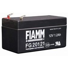 FG20121A FIAMM BATTERIA RICARICABILE PIOMBO 12V 1,2Ah