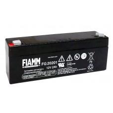 FG20201 FIAMM BATTERIA RICARICABILE PIOMBO 12V 2,0Ah
