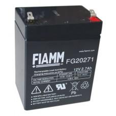 FG20271 FIAMM BATTERIA RICARICABILE PIOMBO 12V 2,7Ah