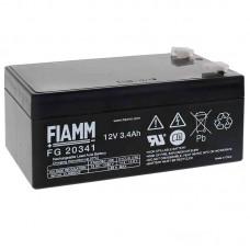 FG20341 FIAMM BATTERIA RICARICABILE PIOMBO 12V 3,4Ah