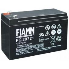 FG20721 FIAMM BATTERIA RICARICABILE PIOMBO 12V 7,2Ah