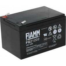 FG21202 FIAMM BATTERIA RICARICABILE PIOMBO 12V 12Ah