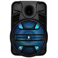 ALIENPRO VORTEX CASSA AMPLIFICATA 25W RMS 12 POLLICI LED USB/MP3/FM/SD/DOPPIO BLUETOOTH