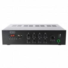 XDOME AMPLIFICATORE PA 50W 100V/4-8 OHM FM,USB,BLUETOOTH