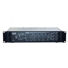 AMPLIFICATORE 180W PA 100V/4-16 OHM 6 ZONE USB-SD