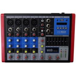 MIXER AUDIO 6 CANALI USB