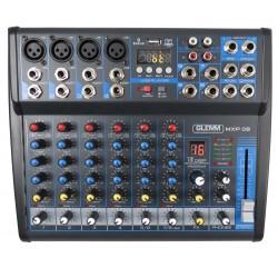 MXP08 GLEMM MIXER AUDIO 8 CANALI USB