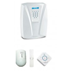 KIT EASY WL FRACARRO KIT DI SICUREZZA COMPOSTO DA CENTRALE DEFENDER HYB. TELECOMANDO CONTATTO E I.R.