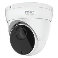 MKTV-DV5MP TELECAMERA AHD 5MPX VARIFOCAL 2,8/12MM DOME 4 IN 1 CASE METALLO