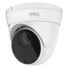 MKTV-DV5MP TELECAMERA AHD 5MPX VARIFOCAL 2,8/12MM DOME 4 IN 1 CASE METALLO