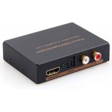 ESTRATTORE AUDIO HDMI PASSANTE SPDIF/COAX OUT ANALOGICO MULTIPLO