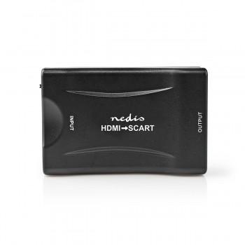 CONVERTITORE HDMI IN - SCART OUT CON ALIMENTATORE