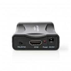 CONVERTITORE HDMI OUT - SCART IN CON ALIMENTATORE
