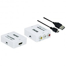 CONVERTITORE HDMI OUT - 3xRCA A/V IN