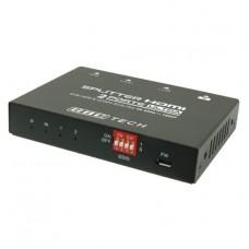 VIDEO SPLITTER HDMI2.0 2 PORTE 4K 60HZ HDR CON DOWNSCALING