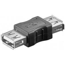 RACCORDO USB A(F) - A(F) IDEALE PER GIUNZIONE DI DUE CAVI