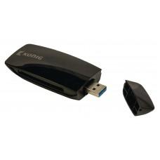 LETTORE CARD UNIVERSALE MULTIFORMATO USB 2.0