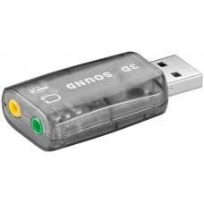 SCHEDA AUDIO USB PER COLLEGAMENTO MICROFONI E ALTOPARLANTI