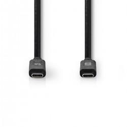 CAVO USB 3.2 MASCHIO TIPO C - USB 3.0 TIPO C MASCHIO CON SUPPORTO A/V MT.2,00