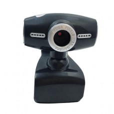 WEBCAM USB 640x480 CON SUPPORTO A PINZA SENSORE CMOS E MICROFONO ORIENTABILE