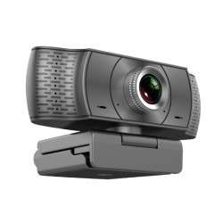 WEBCAM USB FULL HD 1080P CON SUPPORTO A PINZA SENSORE CMOS E MICROFONO ORIENTABILE