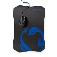 KIT MOUSE DA GAMING A 6 PULSANTI CON TAPPETINO