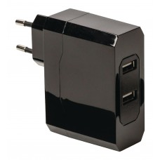 ALIMENTATORE USB DA AUTO 2x4,8A