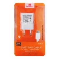 ALIMENTATORE USB TYPE A 220V 1x2,4A COMPLETO DI CAVO USB TYPE C