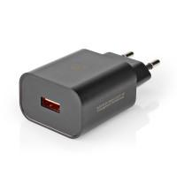 ALIMENTATORE USB TYPE A 220V 1x3,0A 18W