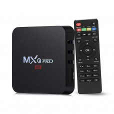 MXQ-4K SMART ANDROID TV BOX 4.4 RK3229 KODI MINI PC QUAD CORE 4K UHD 32 BIT