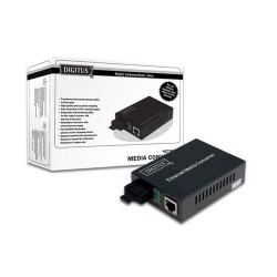 MEDIA CONVERTER RJ45 - FIBRA OTTICA SC 10/100/1000BASE-SX