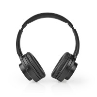 CUFFIA BLUETOOTH CON MICROFONO BLUETOOTH COLORE NERO