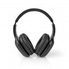 CUFFIA BLUETOOTH OVER-EAR CON MICROFONO COLORE NERO