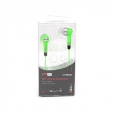 AURICOLARI STEREO IN/EAR VERDE