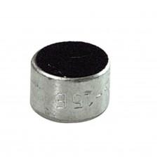 CAPSULE MICROFONICA A CONDENSATORE 9,7x6,5mm OMNIDIREZIONALE