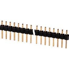 CONNETTORE STRIP LINE MASCHIO DA CIRCUITO STAMPATO PASSO 2,54mm POLI 40