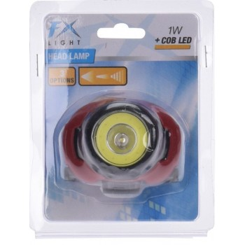 TORCIA FRONTALE CON 1 LED COB 1W