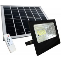 KIT PANNELLO FOTOVOLTAICO CON FARO LED DA 100W DIMMERABILE