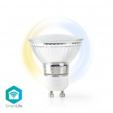 LAMPADA LED SMART NEDIS WIRELESS PAR16 GU10 5W 2700K-6500K DIMMERABILE 110 GR.