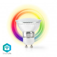 LAMPADA LED SMART NEDIS WIRELESS PAR16 GU10 4.5W 120GR.RGB+2700K DIMMERABILE