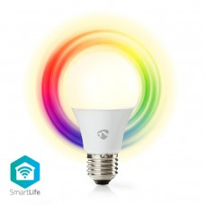LAMPADA LED SMART NEDIS WIRELESS E27 6W 2700K+RGB DIMMERABILE
